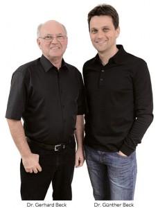Bild Dr. Gerhard Beck und Dr. Günther Beck